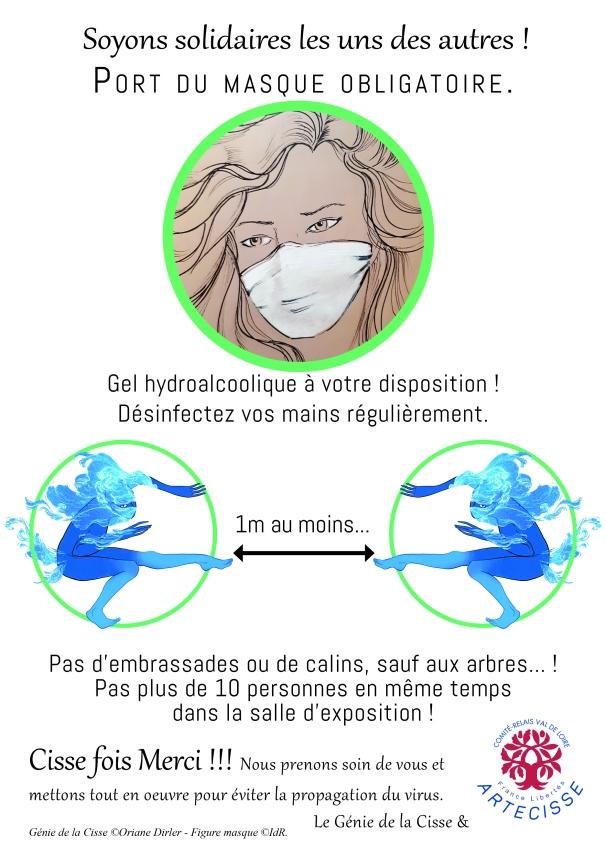 Affiche_Règles sanitaires